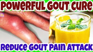 Remove the Gout Forever Naturally! This is a Very Powerful Remedy!