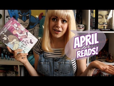 Comic & Graphic Novel Reviews | April 2017 Wrap Up!