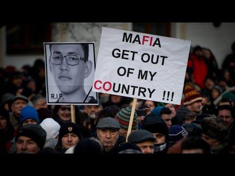 Nach Journalistenmord: Protest gegen Korruption