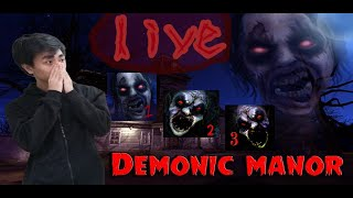 Demonic Manor. 123 Marathon! LS! speed run? continuation