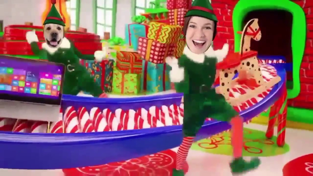elf yourself app returns now with augmented reality - Christmas Elf Dance App