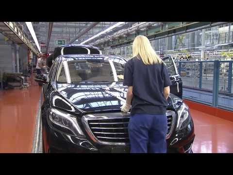 2014 Mercedes-Benz S-Class Production Process