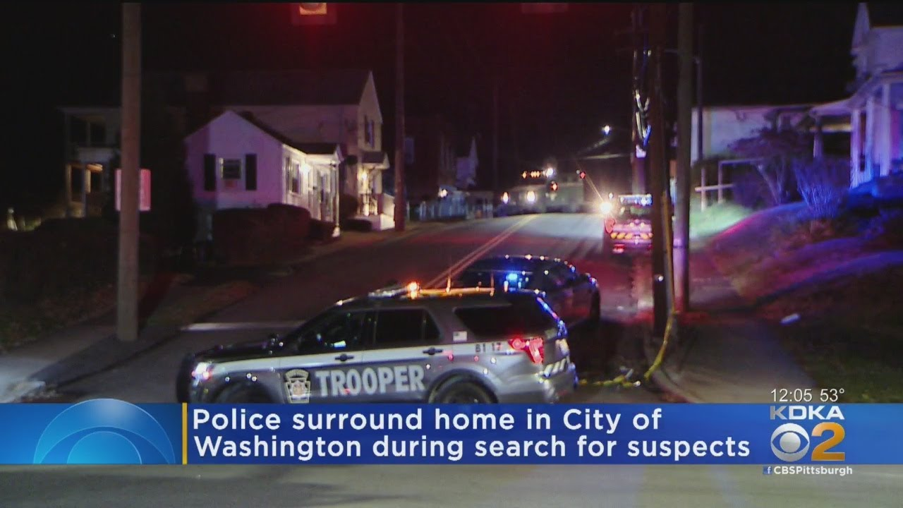 Download Police Surround Home In Washington During Search For Suspects