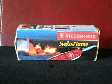 Victorinox Swissflame Swiss Army Knife Youtube