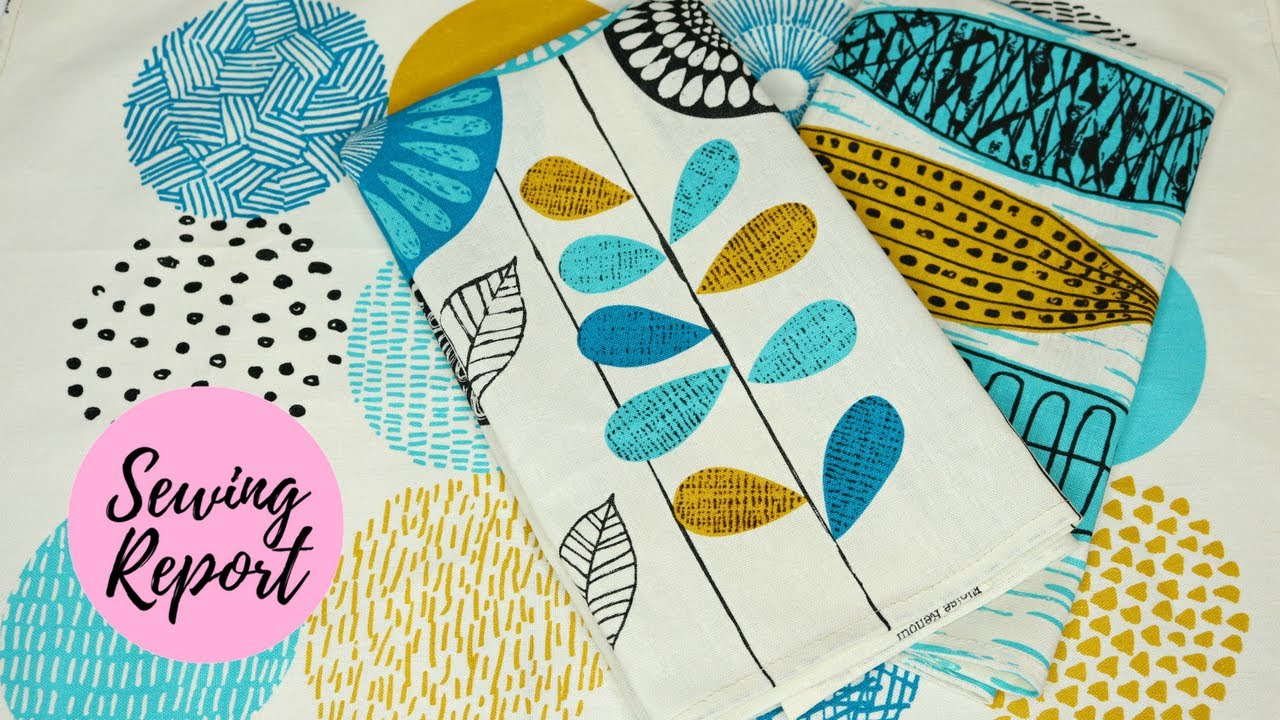 EASY SEWING PROJECT   DIY Tea Towels Tutorial   SEWING REPORT HOW TO SERIES