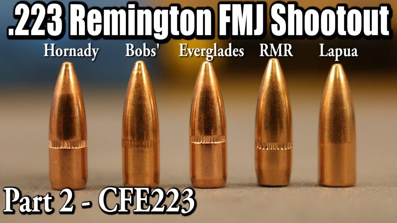 223 Remington FMJ Shootout - Part 2 - CFE223