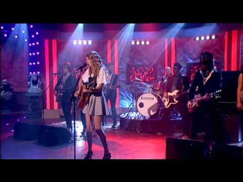 Taylor Swift - Teardrops On My Guitar 8.05.09 Live Paul O´Grady Show music video