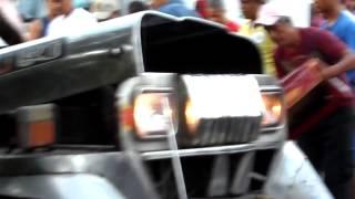 jeep accident video ko po knina lamang bago mag ala 6 ang umaga s San Rafael, Sto. Tomas, Batangas