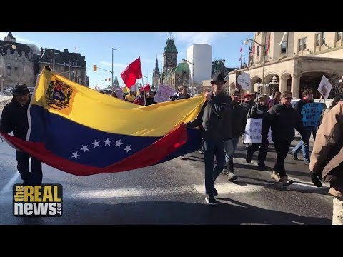 """Hands Off Venezuela"" Rallies Held in Cities Around the World"