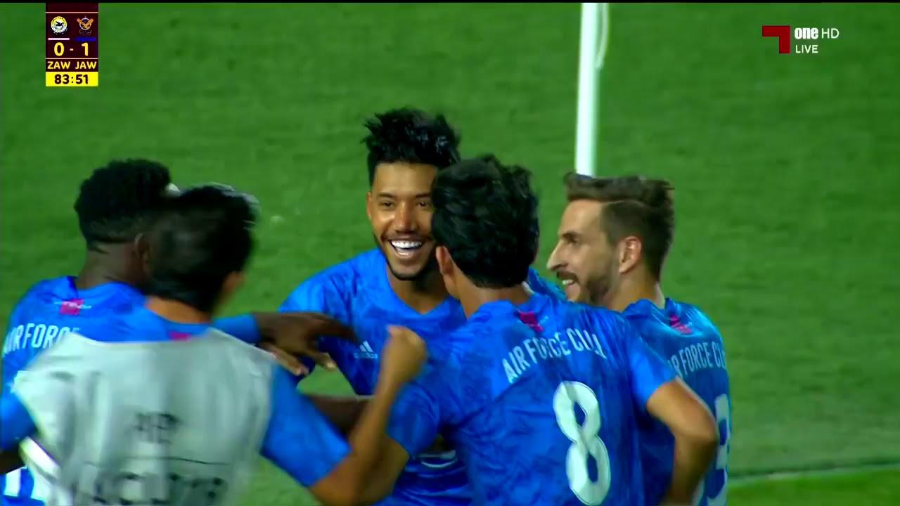 هدف المباراة : القوة الجوية 1 - 0 الزوراء  في الدوري العراقي