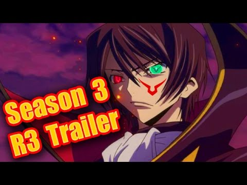 Code Geass R3 Season 3 Sequel PV Trailer!! Code Geass Lelouch of the  Revival PV Trailer Analysis