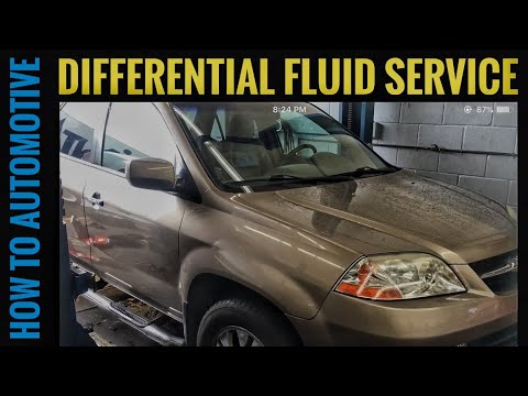 How to Replace the Differential Fluid on a 2003 Acura MDX