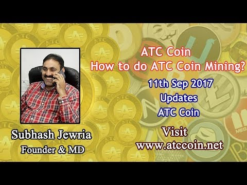 How to do ATC Coin Mining? Updates on 12th Sep 2017 | ATC Coin | Cryptoinbox | Cryptocurrency