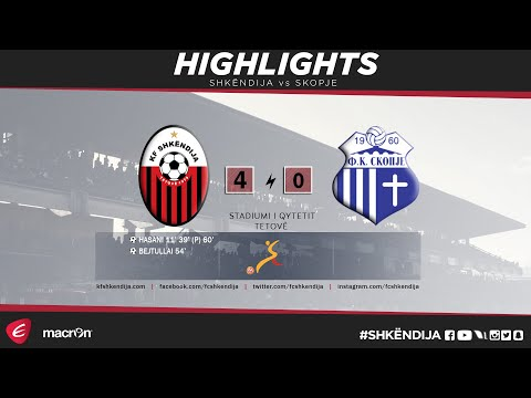 LPFM 2017/18 | 15th Round | Highlights | Shkëndija vs Skopje 4-0