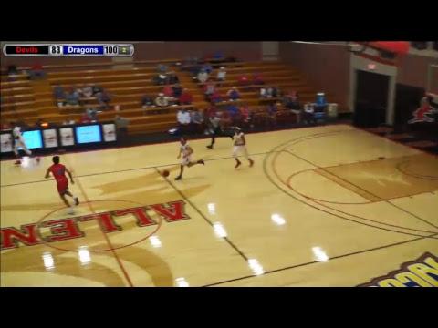 Blue Dragon Men's Basketball at Allen