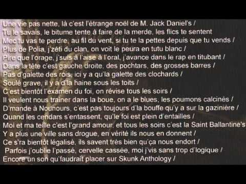 HUGO TSR - Coma artificiel [Lyrics/Paroles]