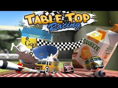 Table Top Racing IOS Gameplay Trailer (HD)
