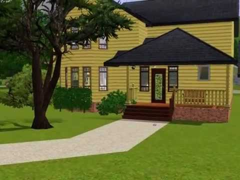 Melinda and Jims House Ghost Whisperer Sims 3 Style