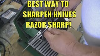Best Way To Sharpen Any Knife Razor Sharp!
