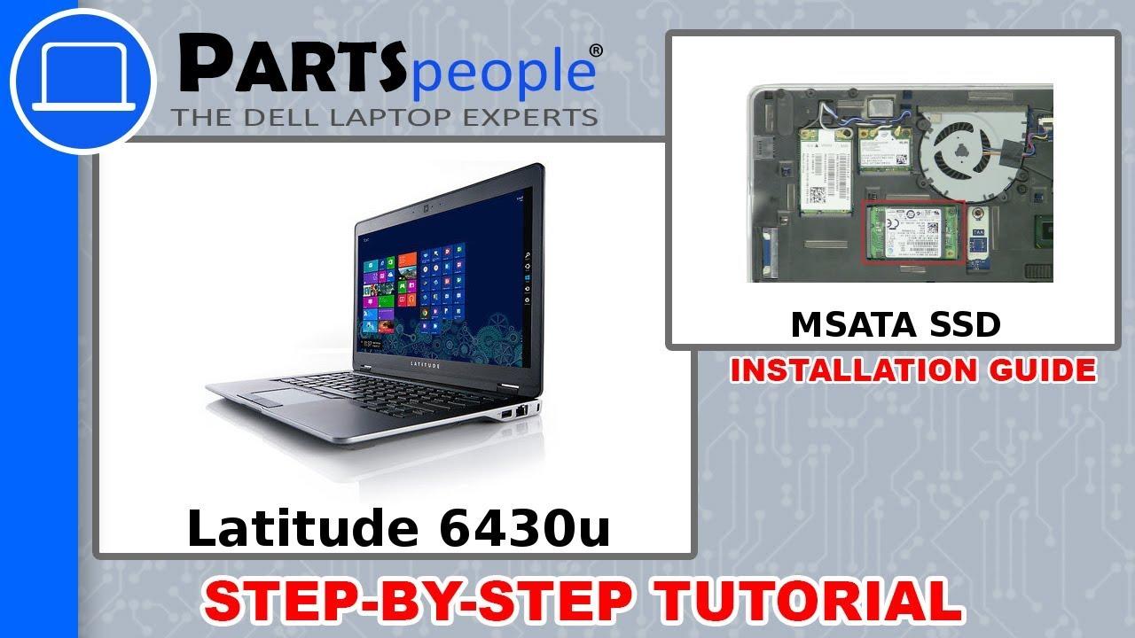 Dell Latitude 6430u (P36G001) MSATA SSD How-To Video Tutorial