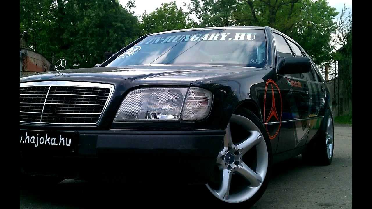 Ámon Olivér - Mercedes W140 S600 V12 - Gymkhana - YouTube on
