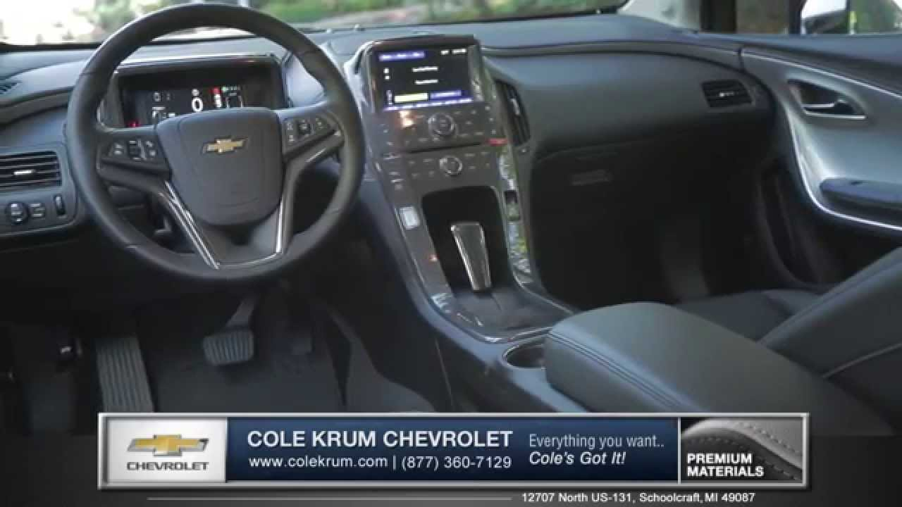 2015 Chevy Volt Interior And Technology Kalamazoo