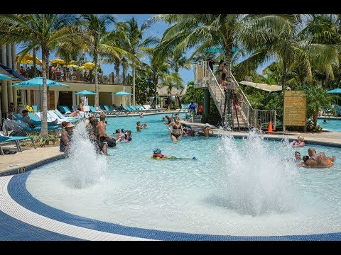 Margaritaville Hollywood Beach Resort, Hollywood, Florida, United States - Crystal Fountains