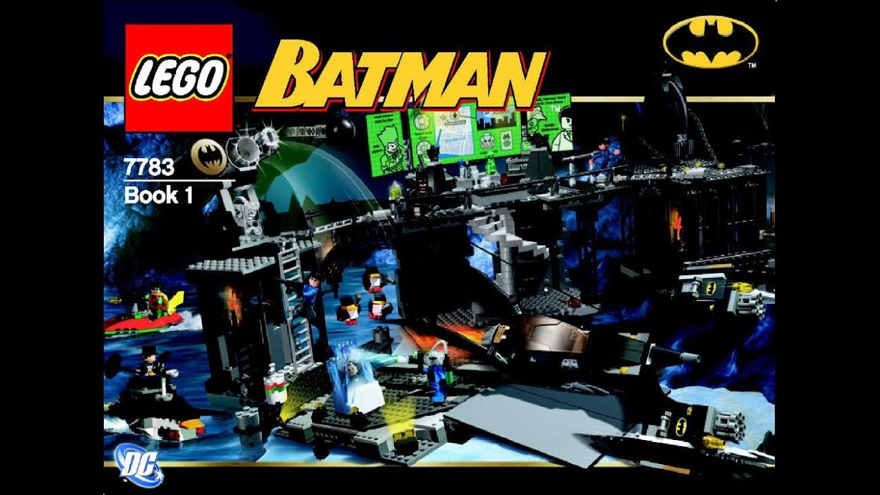 Lego 7783 The Batcave The Penguin And Mr Freezes Invasion Manual
