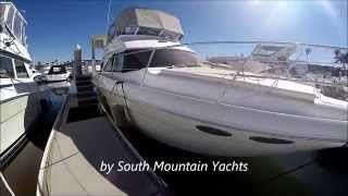 2001 Sea Ray 38 Aft Cabin Motor Yacht Deck Tour by South Mountain Yachts
