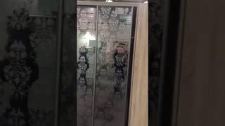 Обзор стенда 3Д шкафы-купе выставка KIFF2017