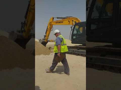 Excavator operator tests Aramco approval 2019 Jubail Saudi Arabia