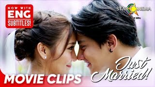 Download lagu Kathryn and Daniel's first 'kasal' in the big screen is here! | Can'tHelpFallingInLove | Movie Clips