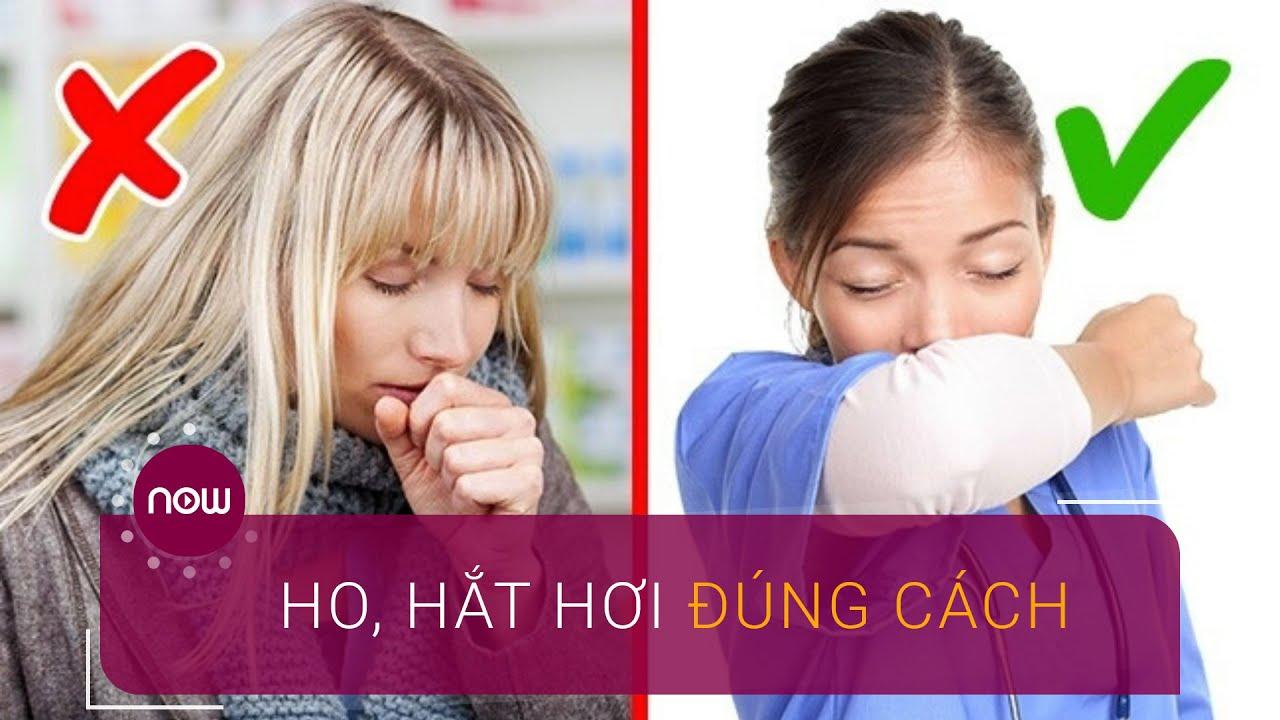 Ho, hắt hơi đúng cách để phòng lây nhiễm virus Corona | VTC Now