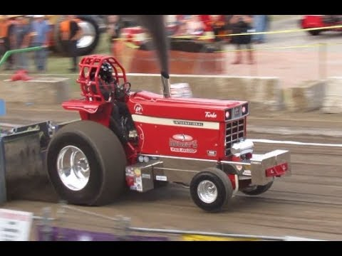 Super Farms 2017 Saratoga County Fair Ballston Spa New York Tractor Pulls NYTPA