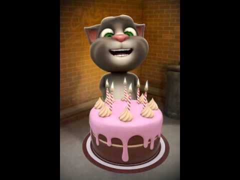 Talking tom cat andrew fattilty cake smasher YouTube