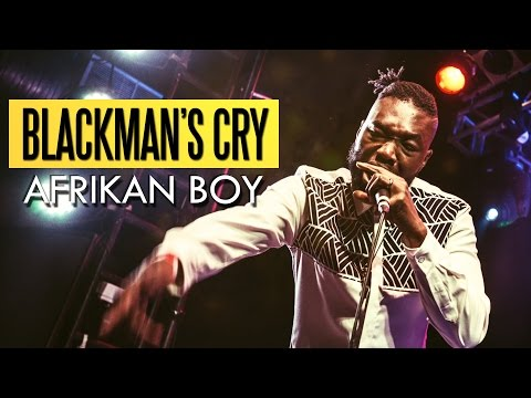 Afrikan Boy  Black Mans Cry Felabration 2016