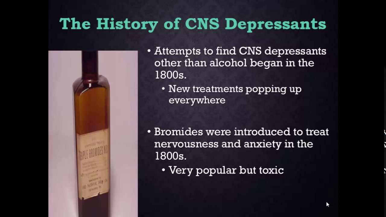 CRIJ 3344 Chapter 6 CNS Depressants