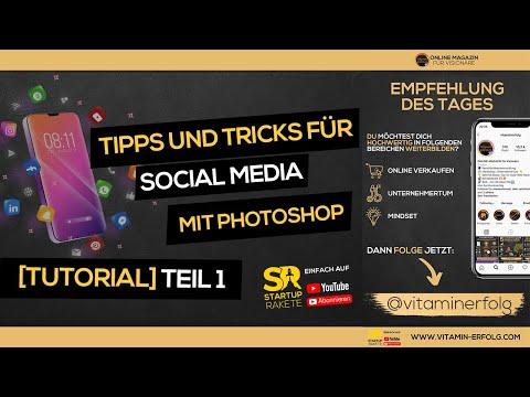 Photoshop Tutorial - Social Media (Teil 1) fürs Marketing