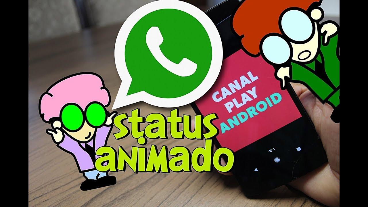 Whatsapp Veja Como Ativar Status Animado Youtube