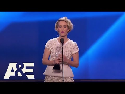 Sarah Paulson Wins Best Actress in a Limited Series | 22nd Annual Critics' Choice Awards | A&E