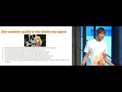 Chris Kennedy: Human Perception & Reaction to Video Compression Changes