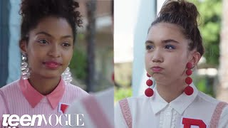 Rowan Blanchard and Yara Shahidi Took the ULTIMATE Test of Their Best Friendship