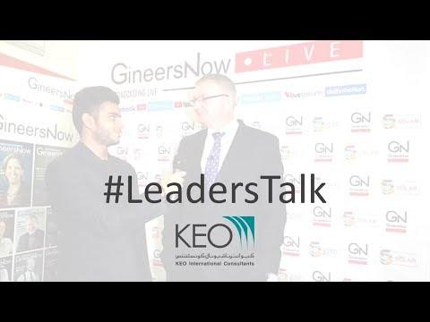 #LeadersTalk With KEO's Managing Director Of MEP Engineering, Darrel Strobel