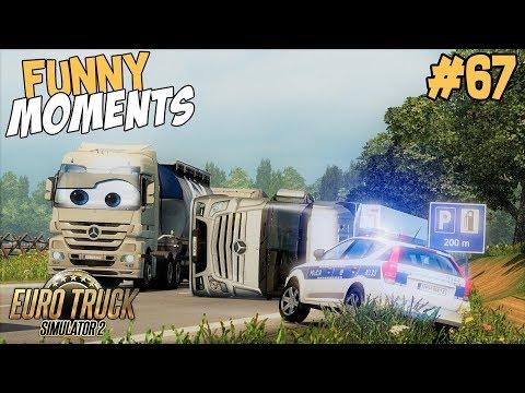 Euro Truck Simulator 2 Multiplayer Funny Moments & Crash Compilation #67