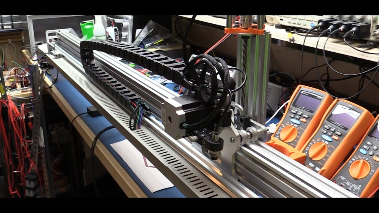 CNC Project #4a - The Gantry Wiring - YouTube