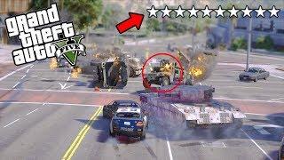 10 ESTRELLAS POR ROBAR EL BANCO en GTA 5 - Grand Theft Auto V - GTA V Mods