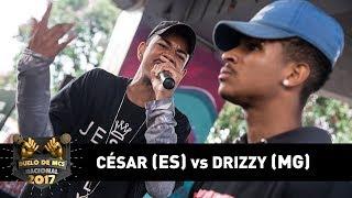 César [ES] vs Drizzy [MG] (Final) - DUELO DE MCS NACIONAL 2017 thumbnail
