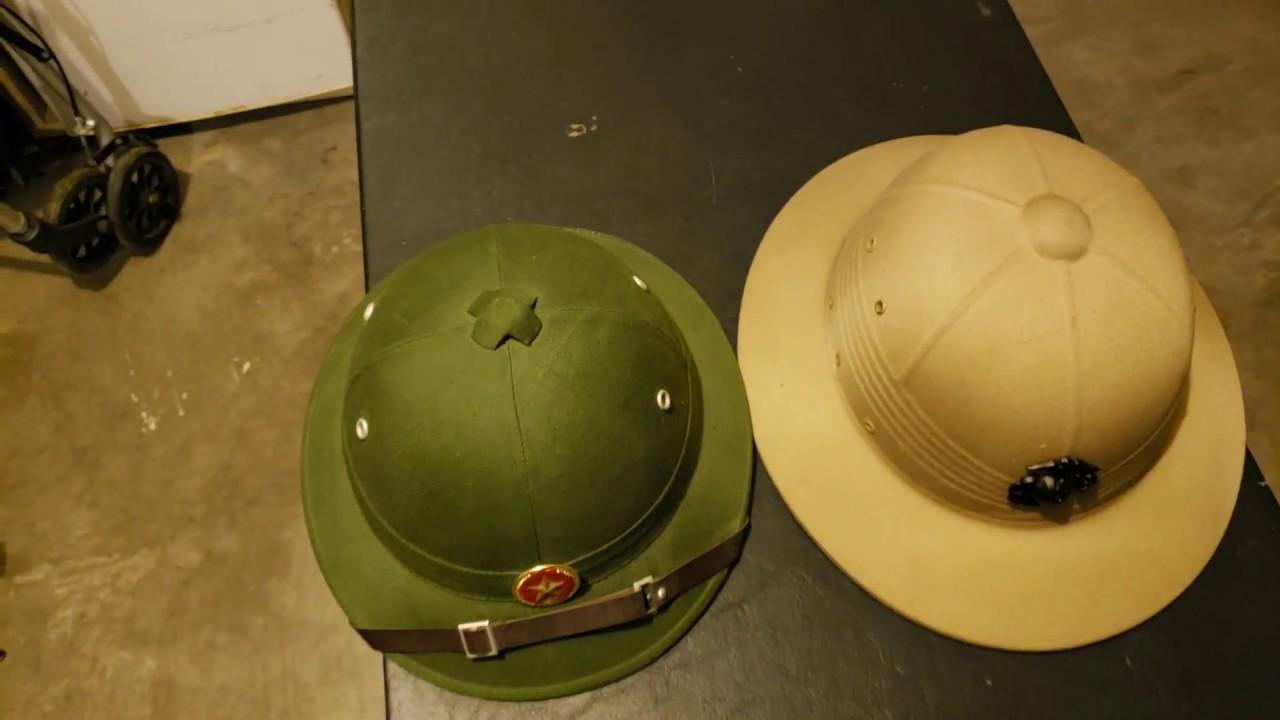 7413bda55c2a5 Pith Helmet. USMC vs. NVA - YouTube