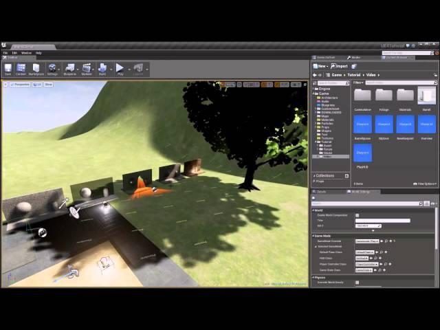 Стрим по созданию игры на Unreal Engine 4 - Часть 1