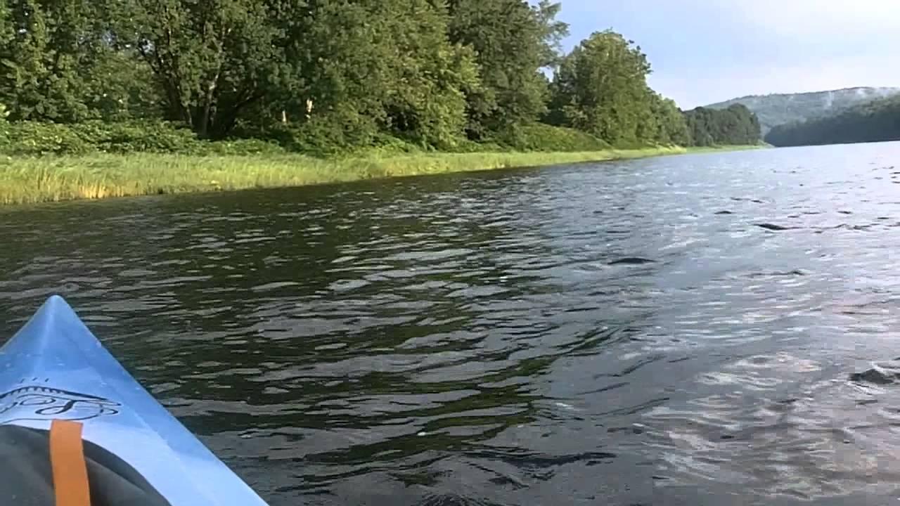 Upper Delaware River Kayak Trip 1 1 Youtube